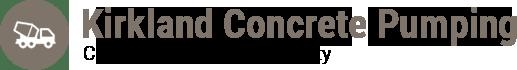 Kirkland Concrete Pumping Logo